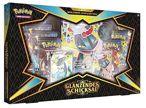 The Pokemon Company Pokémon - Glänzendes Schicksal Premium-Kollektion: Schillerndes Katapuldra-VMAX