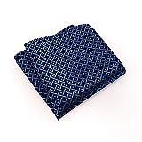 Serviette de poche pour homme mouchoir monsieur costume en polyester serviette poitrine serviette carrée rayée monochrome-03