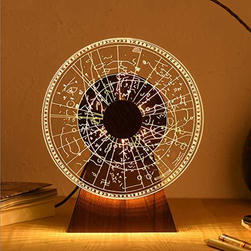 xilinshop Lámpara de Mesa Regalos Shift Museo Douzan Estrella luz de la Noche del Dormitorio del Estilo Chino Creativas llevó Luces de lámparas de Mesa Chino Lámparas de Escritorio