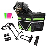 Pet-Pilot ORIGINAL Dog Bike Basket Carrier | 3 different color insert sets included