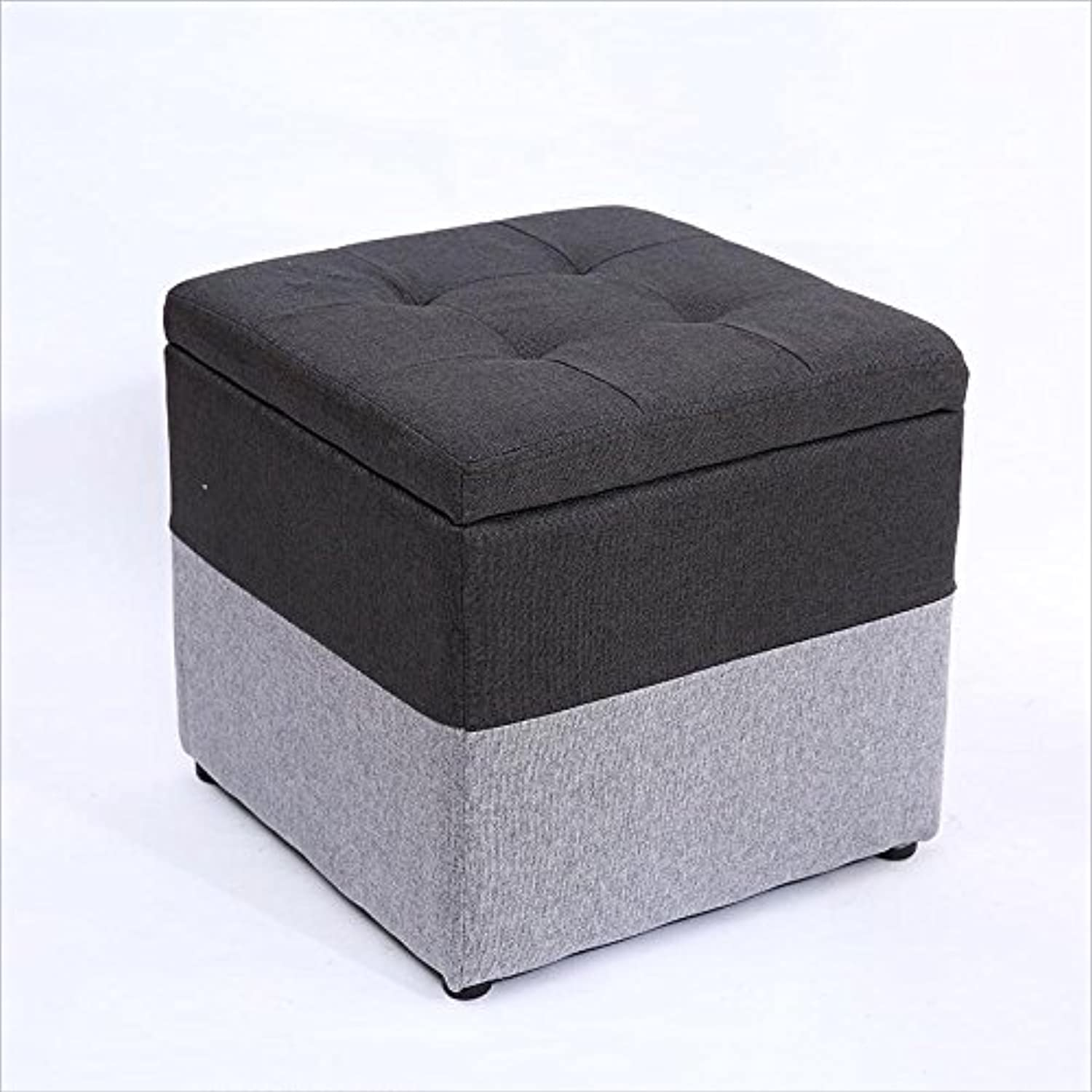 Solid Wood shoes Bench Creative Sofa Stool Fashion Home Stool Leather Stool Makeup Stool Storage Stool 0522A (color   C)