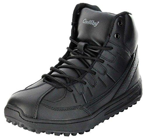 ConWay Feuerwehr Wettkampf-Schuh schwarz Outdoor Schuhe Damen/Herren/Jugend 1000, Farbe:schwarz, Größe:42 EU