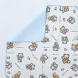 ZXYY Leinwand Windel Wickelauflage Urin Pad Matte Bettpolster für Inkontinenz waschbar wiederverwendbar Bettunterlage für Erwachsene Kinder wasserdicht atmungsaktiv - a 70x120cm (28x47inch)