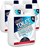 Cleenly <span class='highlight'>Macerator</span> Cleaner & Descaler - 15 litres | Super Concentrated, Long-Lasting Formula | Safe for All Saniflo <span class='highlight'>Pump</span> Units, Toilets & Urinals | Helps Prolong The Life of Your <span class='highlight'>Macerator</span>