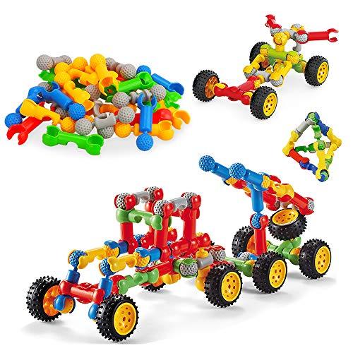Oligo Juguetes de construcción Stem para niños de 3 a 6 años, Juegos de Estudio para niños de 3 a 4, 5, 6, educación para niños, Juguetes para niños de 5 a 6 y 7 años