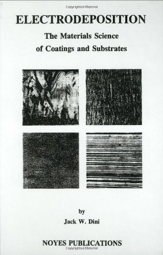 Electrodeposition: The Materials Science of Coatings and Substrates (Materials Science and Process Technology Series)
