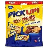 Bahlsen ミルクチョコレート Milk Chocolate Pick Up! Minis, 106g Chocolate Biscuit