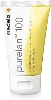 Medela Purelan Nipple Cream, Lanolin Breast Cream for Nursing & Breastfeeding, 37g
