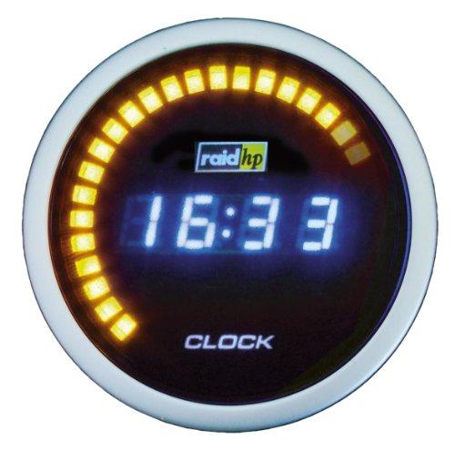 Raid HP 660510 Zusatzinstrument Uhr Serie Night Flight Digital Blue