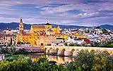 YHKTYV Paisaje De La Ciudad De Córdoba 98 Piezas Puzzle Aliviar Estrés Juego Desafiante Y Educativa Puzzle Panorámico Decoración para El Hogar