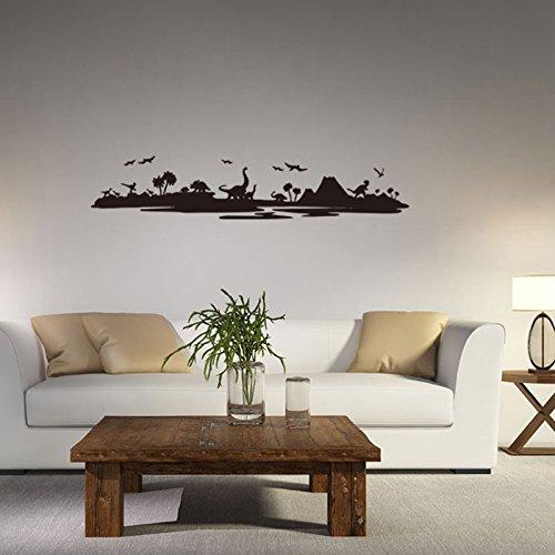 BB.er Mural Dinosaur World Salon Chambre à Coucher Chambre Enfants imperméable Amovible Stickers décoratifs