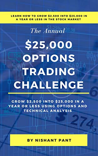 $25K Options Trading Challenge: Proven techniques to grow $2,500 into $25,000 using Options Trading and Technical Analysis
