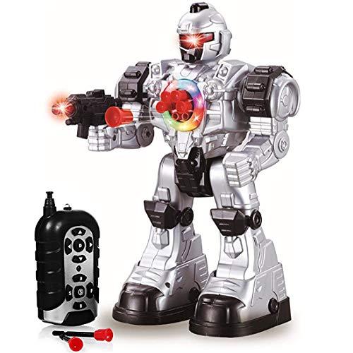 deAO RC Robot Beast Ares con Diverse Azioni e Effetti de Luci e Suoni - Include Freccette in Plastica