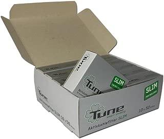 actiTube Slim - Filtros de carbón Activo (10 x 50 Unidades)