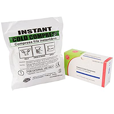 """Genuine First Aid Instant Cold Pack, Kit Size (4""""x5""""), 1/Box by Adventure Medical Kits"""