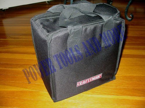 CRAFTSMAN TOOL BAG / TOTE for C3 19.2 Volt Cordless - Case 10'x10'x6' by CRAFTSMAN