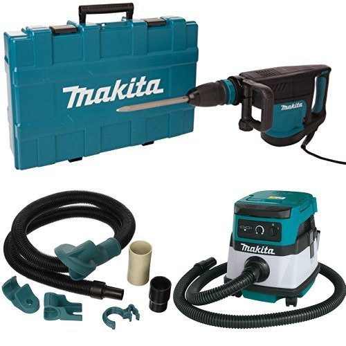Best Review Of Makita HM1203C 20 lb. Demolition Hammer, accepts SDS-MAX bits, 196571-4 Dust Extracti...