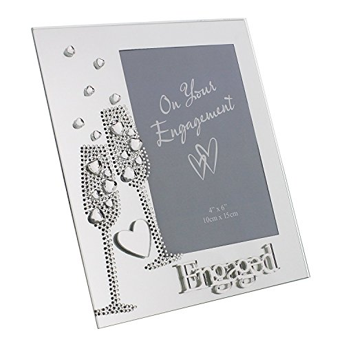 Flute and Heart décor Engaged Frame