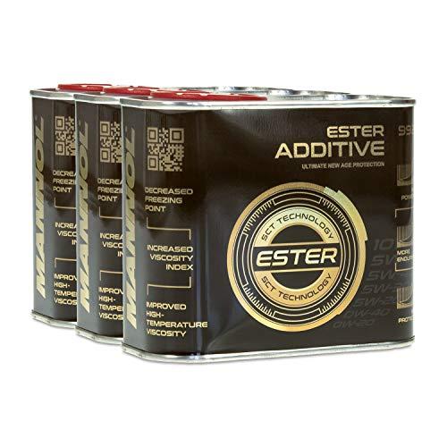 MANNOL 9929 Ester Additive Motoröl-Additiv, 500ml x 3