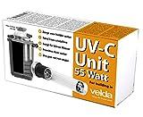 velda 126577 - Unidad de Repuesto de UV-c para el removedor eléctrico contra Las Algas Verdes en el Estanque, la Unidad UV-c 55 vatios