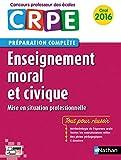 Enseignement moral et civique - Préparation à l'épreuve orale