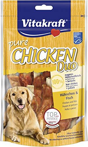 Vitakraft Chicken Duo® Hühnchen & Fisch, 80g HU, 1er Pack