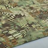 Mandrake Camo Camouflage Cotton Blend Army Military Fabric Cloth