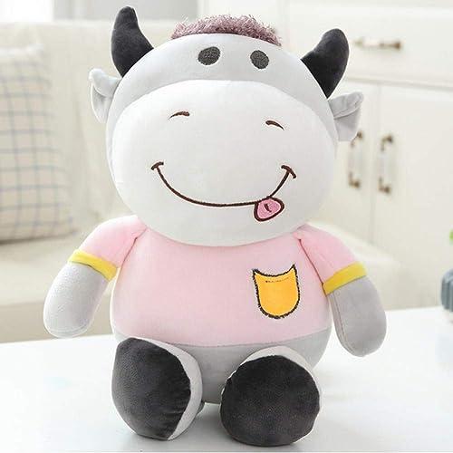 hasta un 50% de descuento Kawaii Animal Vaca muñeco de Peluche Peluche Peluche Juguete Niños Suave y cómodo bebé toy60cm  ahorra hasta un 70%