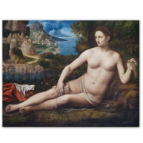empty Bernardino Luini Canvas Paintings Posters and Prints Portrait Wall Pictures for Living Room 60x90cm unframed