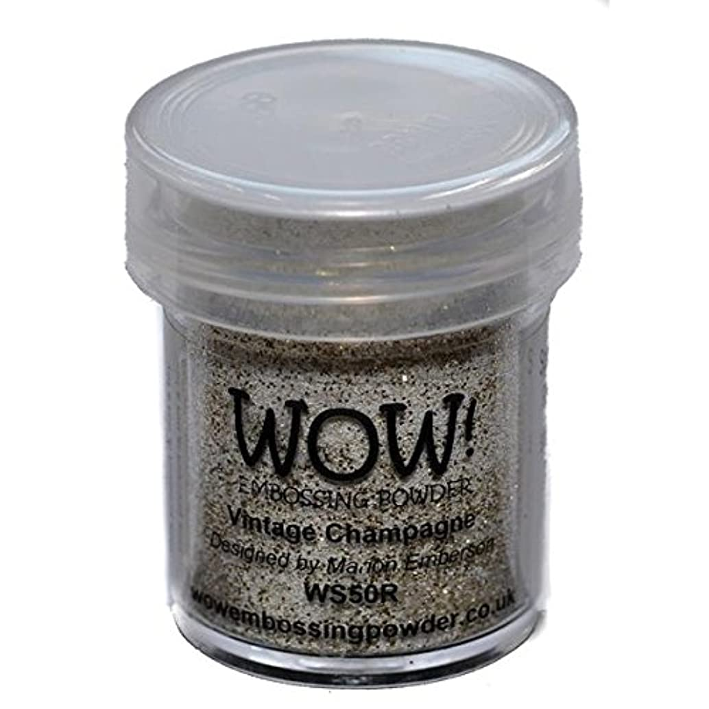 Wow Embossing Powder 15ml, Vintage Champagne