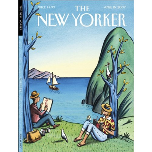The New Yorker (April 16, 2007) cover art