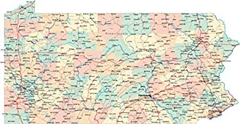 Best map pa counties Reviews
