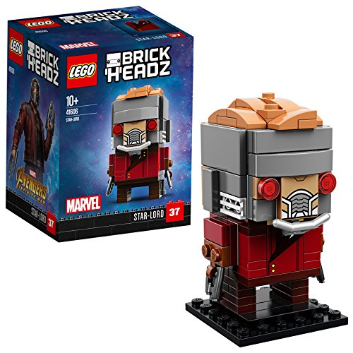 LEGO- Brickheadz Starlord, Multicolore, 41606