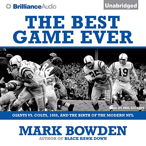 The Best Game Ever audiobook cover art