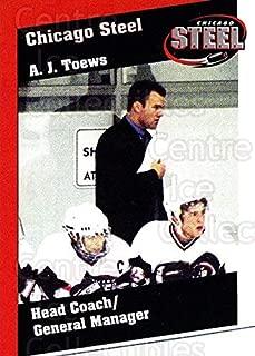 (CI) AJ Toews Hockey Card 2002-03 Chicago Steel 23 AJ Toews