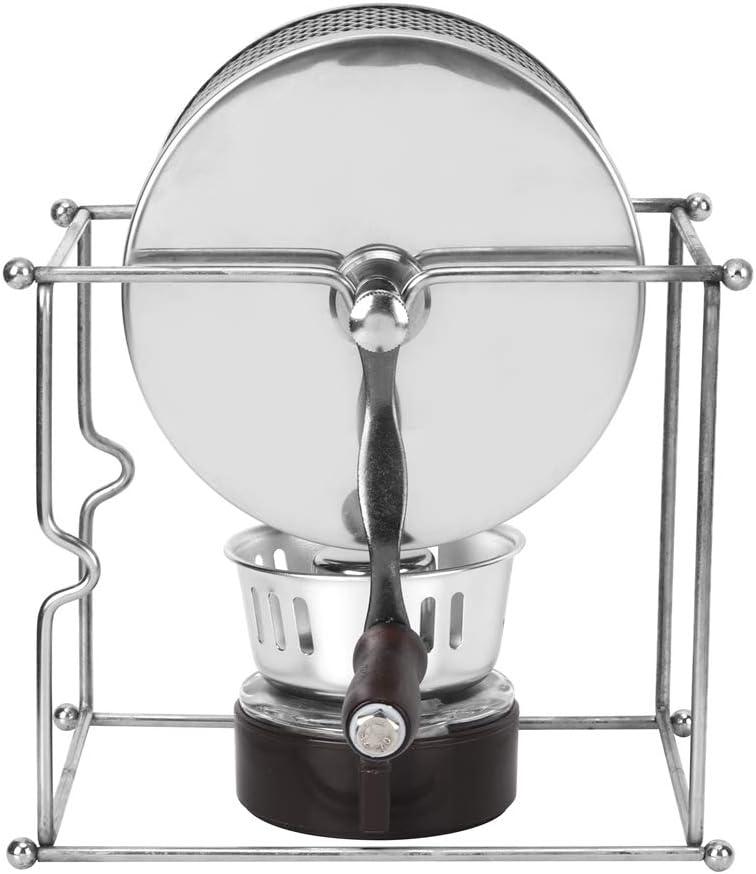 Tostador de café, Yevenr Mini máquina de granos de café Rodillos de granos de café Máquina de café tostadora Máquina para hornear café en grano manual