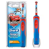 Cepillo de Dientes Eléctrico Oral-B Stages Power Kids de los Personajes de Cars o Aviones Disney, Multicolor