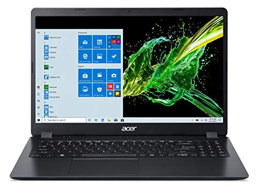 Acer Aspire 3 Intel i3-10th Gen 15.6 - inch 1920 x 1080 Thin and Light Laptop (4GB Ram/1TB HDD/Window 10/Intel UHD Graphics/Black/1.9 kgs), A315-56