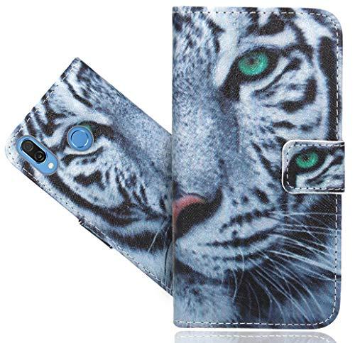 Huawei Honor Play Handy Tasche, FoneExpert Wallet Hülle Flip Cover Hüllen Etui Hülle Ledertasche Lederhülle Schutzhülle Für Huawei Honor Play