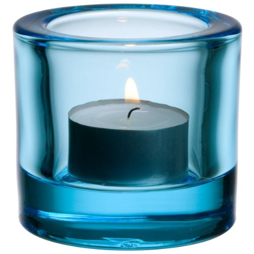 Iittala Kivi Light Blue 60mm Votive/Candleholder