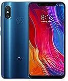 Xiaomi Mi 8 - Smartphone de 6.21' (Octa-Core Kryo 2.8 GHz, RAM de 6 GB, memoria de 64 GB, cámara de 20 MP, Android 8.0) color azul [Versión española]