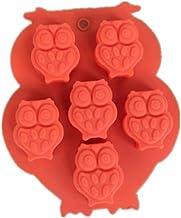 N/R 1pc Herramientas de Postre de Cocina de Goma de Silicona Herramientas para Hornear, Naranja
