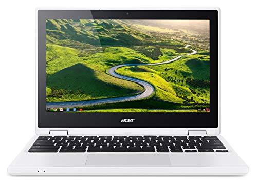 Acer R11 CB5-132T 11.6 inch Convertible Chromebook Laptop (Intel Celeron N3050, 2 GB RAM, 16 GB eMMC, Integrated Graphics, Chrome OS) - White (Renewed)