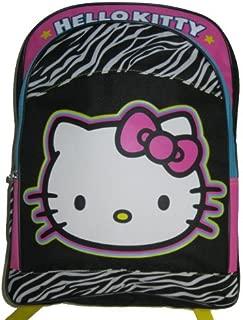 """Hello Kitty""""Zebra"""" 16"""" Children's School Backpack"""