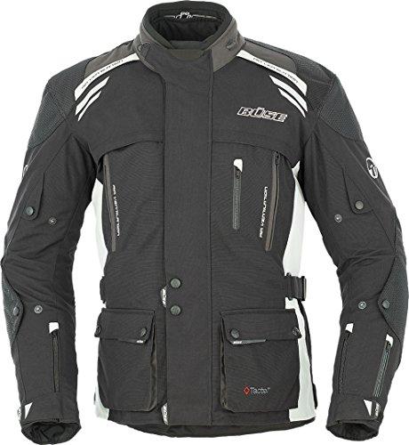 Büse Highland Motorrad Textiljacke 64 Schwarz/Hellgrau