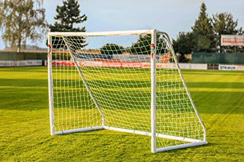 POWERSHOT® Fußballtor PRO 3 x 2 m aus uPVC, WETTERFEST, inkl. Zubehör