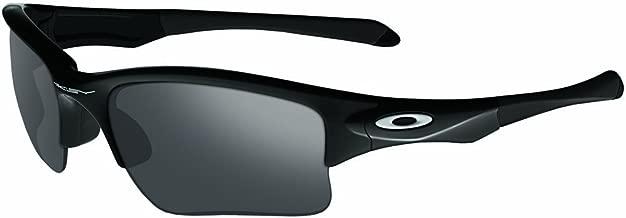 Oakley Men's OO9200 Quarter Jacket Rectangular Sunglasses, Polished Black/Black Iridium, 61 mm