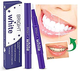 Teeth Whitening Pen – 2 Pcs Value Pack, 18+ Uses, Whitening Treatments, No Sensitivity, Travel-Friendly, Effective, Painless, Beautiful White Smile, Effective Remove Yellow Teeth, Coffee Stains etc.