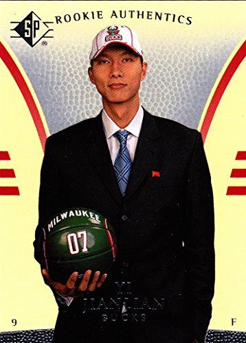 2007-08 SP YI JIANLIAN RC ROOKIE CARD