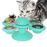 Yuning Juguete para Gatos, Juguete Gato Giratorio, Windmill Cat Toy,...